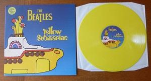 yellow submarine yellow vinyl